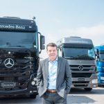 Roberto Leoncini, vice-presidente de Vendas e Marketing Caminhões e Ônibus da Mercedes-Benz do Brasil.