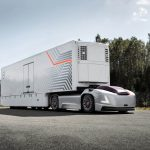 Volvo VERA veículo de carga autônomo conectado e elétrico.