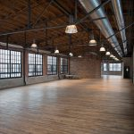 Instalações internas da fábrica de Corktown, Detroit.