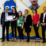 Cerimônia de premiação da 2ª edição do Desafio Paraná (2017).