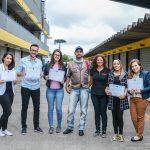 Alunos de jornalismo receberam certificado de hora/atividade das oficinas de fotojornalismo e video documentário esportivos oferecidos pela APK.