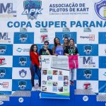 As simpáticas representantes do Instituto Paranaense de Cegos (IPC).