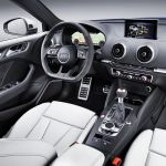 Interior do Novo Audi A3 RS3.