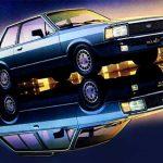 Foto de propaganda do Ford Del Rey 1984.