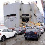 Exportação do VW Gol.