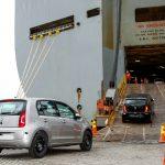 Exportação VW up!.
