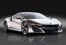Honda NSX Concept.