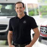 Jefferson Ferrarez - diretor-de Vendas e Marketing de Vans da M-Benz.