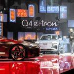 Marc Lichte, Head of Design, AUDI AG Audi e-tron GT concept Audi Q4 e-tron concept