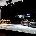 Audi e-tron Sportback prototype Audi e-tron GT concept