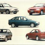 Linha Ford Escort 1997.