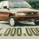 Ford Escort 1 Milhão em 1996.