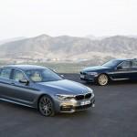 Nova BMW Série 5.