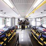 Daimler Buses baut Mercedes-Benz Citaro für den Transport von COVID-19-Patienten um.   Daimler Buses converts Mercedes-Benz Citaro for transporting COVID-19 patients