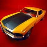 Ford Mustang Boss 302 1969.