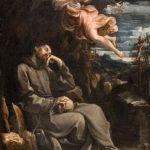 San Francesco confortato da un angelo musicante (1607-1608).