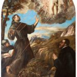 San Francesco riceve le stimmate (1570).