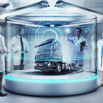 Laboratório tecnológico.
