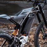Harley-Davidson Moto elétrica conceito 2.