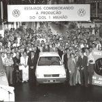 Comemora 1.000.000 de veículos produzidos.