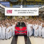150 mil unidades de Fiat Argo produzidas.