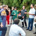 Briefing com os pilotos antes da largada.