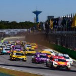 Largada da Hero Super Final em Interlagos.