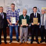 Na fotos, Bispo Neto, Miguel Beux, Danilo Afornali, Milton Sperafico e Celso Pavia.