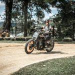 Bruna Wladika treina na pista de Flat Track, categoria que será atração no BMS Motorcycle.