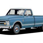 1967 Chevrolet C10.
