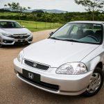 Honda Civic completa 20 anos de produção no Brasil.