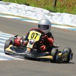 Estreante na pista de Londrina e no Campeonato Paranaense de Kart, Rômullo Ribas conquistou a sétima posição na classificação final da Mirim.