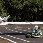 José Muggiati Neto ganhou a categoria Júnior, conquistando um dos três títulos de Curitiba no Paranaense de Kart.