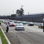 Formação do grid das categorias Turismo B.