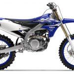 Yamaha YZ450F.