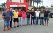 O candidato da Chapa Bandeira Verde se reuniu com os clubes de Santa Catarina.