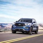 Ford Explorer ST 2020.