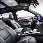 Ford Explorer ST 2020, interior..