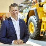 Melker Jernberg Presidente da Volvo Construction Equipment.