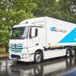 Mercedes-Benz Trucks: eActros electric.