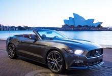 Mustang em Sydney, na Austrália.