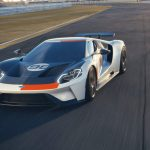 2021 Ford GT Heritage Edition inspired by the GT40 MK II's 1966 Daytona 24 Hour Continental race victory