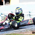 Breno Ebrahim busca seu primeiro título no Kart na Mirim.