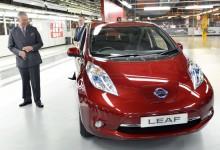 Fábrica da Nissan na Inglaterra recebe visita do Príncipe Charle