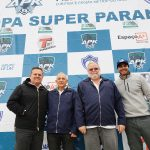Alfredo Ibiapina (APK), Rubens Gatti (FPrA), Pedro Sereno (CBA) e Wagner Ebrahim (APK).