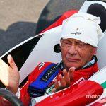 Uma das muitas homenagens à lenda Niki Lauda.