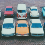 Foto de divulgação da linha VW 1975.