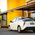 O Prius emite cerca de 40% menos CO2 em relação a um veículo convencional.