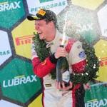 Kaefer comemora a primeira vitória no Marcas.