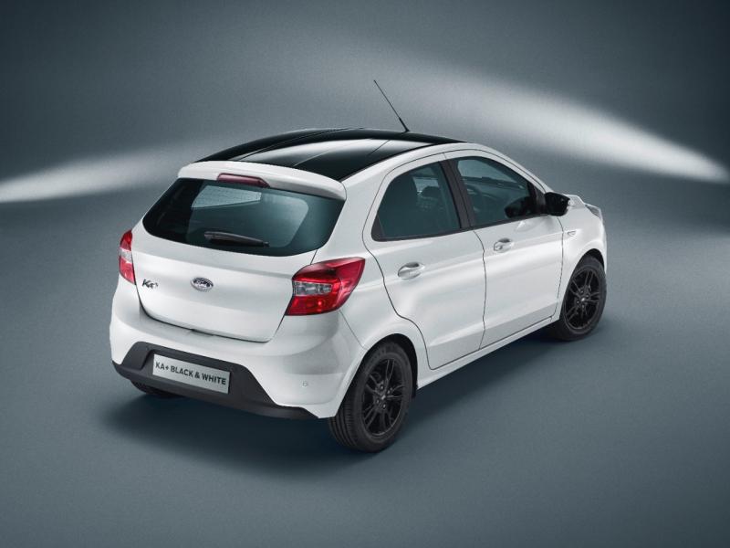 Ford Vende O Ka Hatch Versao Black And White